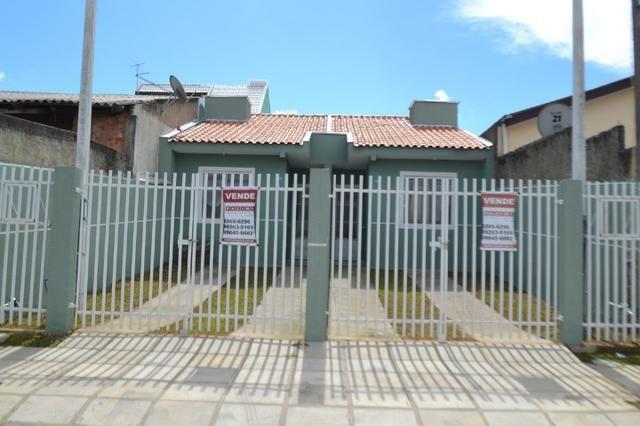 Rua Clotilde- Casa Entrada Parcelada -Campo de Santana/Tatuquara - Imobiliaria Pazini
