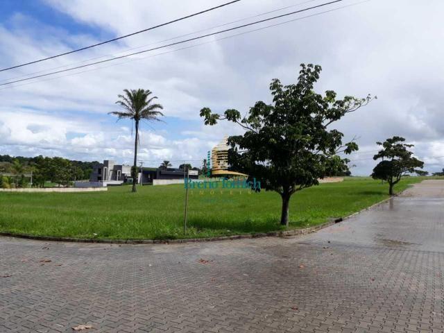Terreno à venda, 1000 m² por r$ 185.000 - condomínio terras bahia - teixeira de freitas/ba
