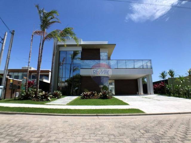 Casa com 3 dormitórios à venda, 337 m² por R$ 2.100.000 - Condomínio Alphaville Fortaleza  - Foto 2
