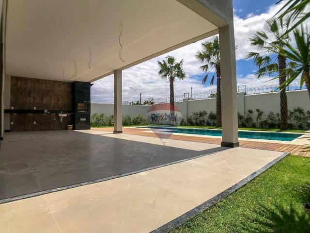Casa com 4 dormitórios à venda, 360 m² por R$ 1.990.000 - Condomínio Alphaville Fortaleza  - Foto 9