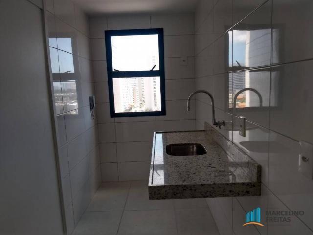Apartamento com 2 dormitórios para alugar, 72 m² por r$ 1.509,00/mês - engenheiro luciano  - Foto 13