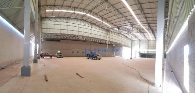 Galpão para alugar, 2500 m² por r$ 23.500,00/mês - maracanaú - maracanaú/ce