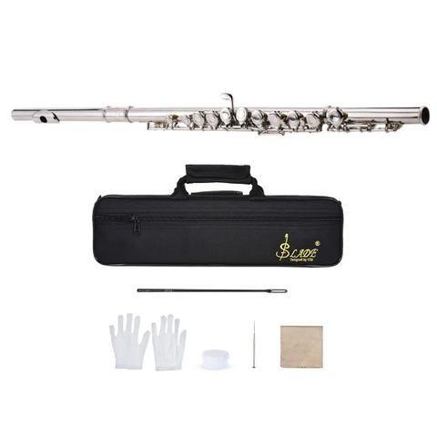Flauta Transversal Em Dó Ammoon Slade - Foto 5