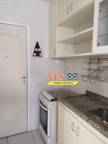 Yes imob - apartamento residencial para locação, 3 dormitórios sendo 1 suíte, 1 sala, 2 ba - Foto 3