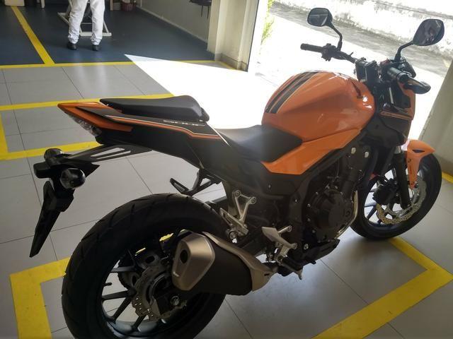Cb500f 2019/2019 moto zero só tem 180km - Foto 2