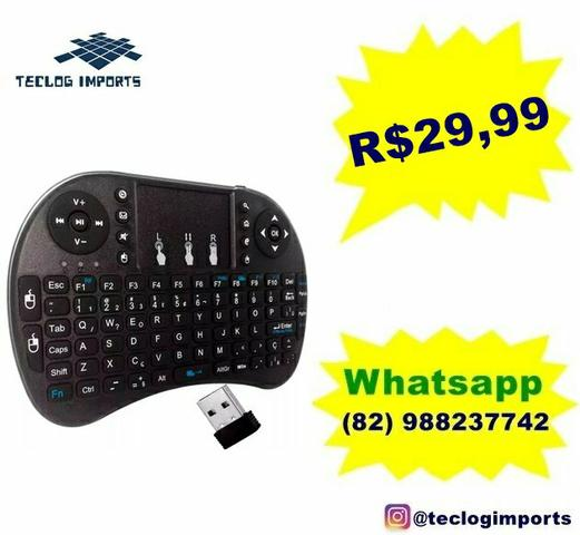 Mini teclado wireless tvbox
