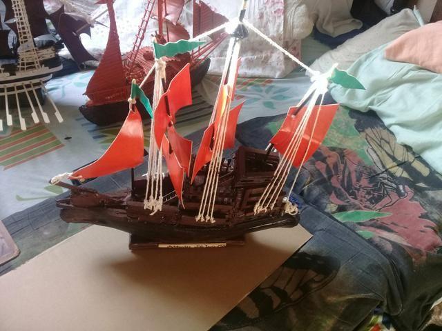 Barcos decorativos artesanais - Foto 5