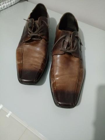 Sapato social Novo - Marca Democrata - tamanho 42 - Foto 3