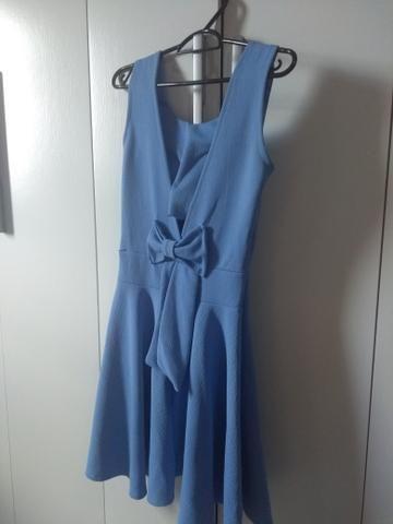 Vestido azul (tamanho único) - Foto 2