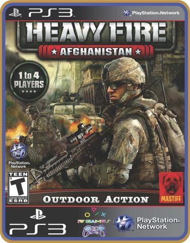 Ps3 Heavy fire conjunto - Foto 2