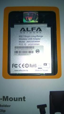 Alfa AWUS036NH Adaptador Wireless USB - Foto 4