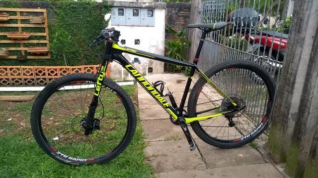 MTB 29 Cannondale Lefty FSI Carbon Parcelo 10x Sem Juros - Foto 6