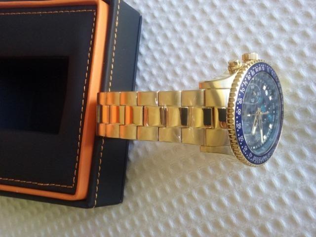 9fcf68d9bd6 Troco ou Vendo Jóia de Relógio Maravilhoso com mov.suíço e ouro 18k ...