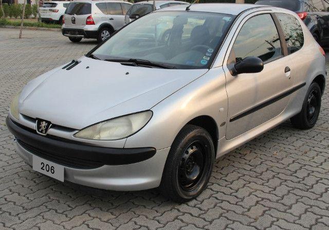 Peugeot 206 Selection Prata, 1.6 16V, modelo 2004