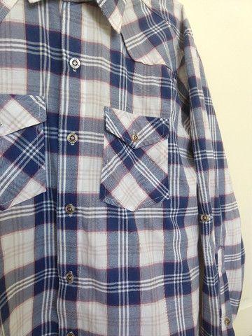 Camisas Xadrez Tam G - Kit com 3 - Ótimo Estado - Foto 5