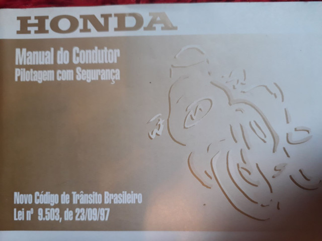 Manual Do Proprietário Honda Cg 125 Titan/ Cg 125 Cargo - Foto 3