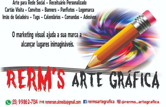Rerm's Arte Gráfica - cartão visita,banner e muito mais
