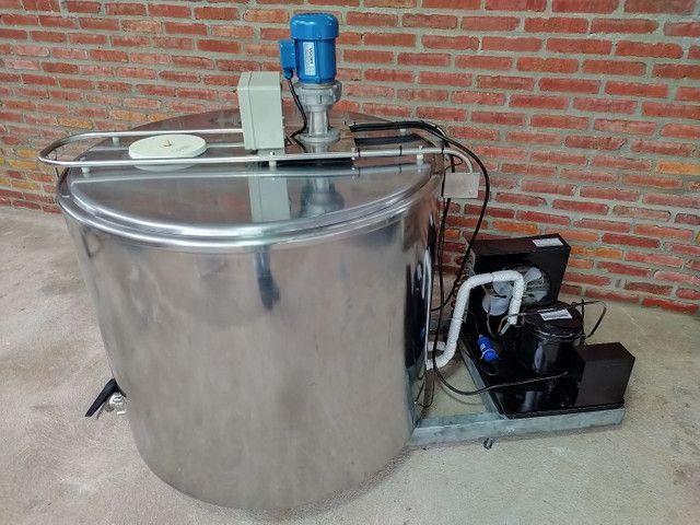 Resfriador Agranel Inox 400 Litros Semi Novo