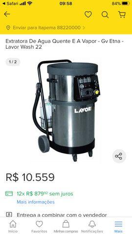 Vendo máquina vaporizadora lavor - Foto 5