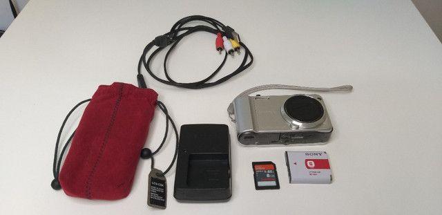 Câmera Sony Cybershot 16.1 Dsc-h70 Prata - Foto 2