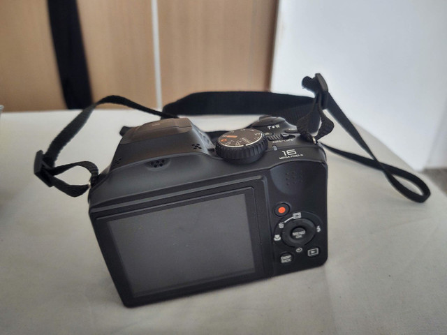 Camera semi profissional fuji film S48000 16mp