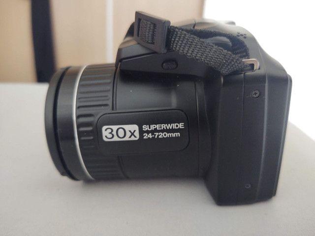 Camera semi profissional fuji film S48000 16mp - Foto 6
