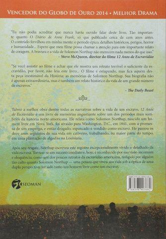 12 Anos de Escravidao - Livro Novo e Lacrado! - Foto 2