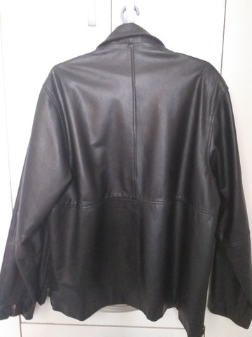 Jaqueta de couro bovino legítimo - Foto 3