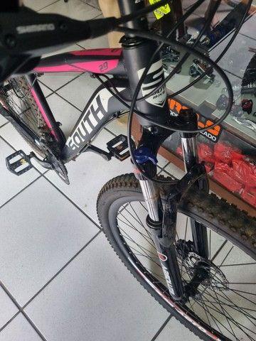 Bicicleta aro 29 Hidráulica Shimano  - Foto 3