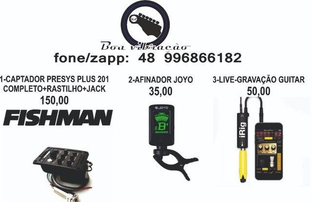 pedal afinador cromático função pitch(confira demais fotos) - Foto 2