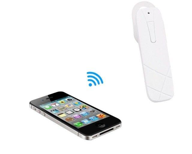 100% novos Fone De Ouvido Bluetooth Headset M165 - Foto 4
