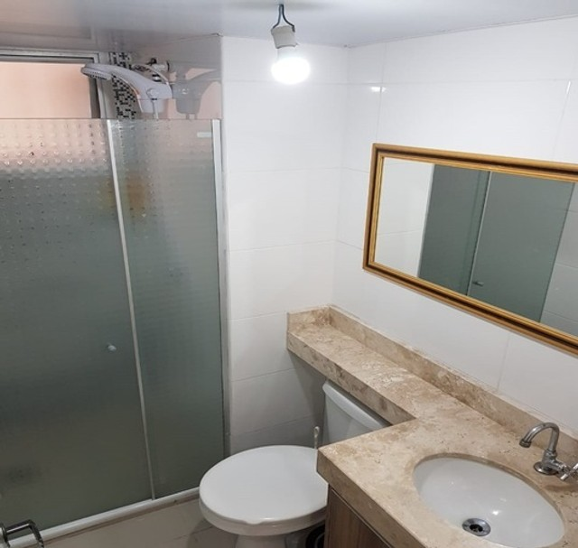 Apartamento com 3 quartos_semi mobiliado no Fazendinha  - Foto 10