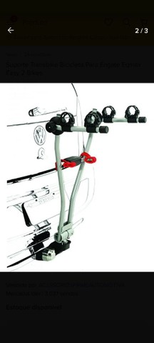 Transbike eqmax easy para 2 bikes. Invista em um produto de qualidade - Foto 2