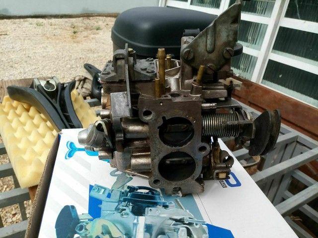 Carburador p motor ap 1.8 , 2.0 alcool revisado - Foto 2