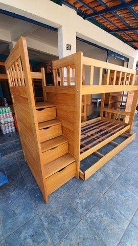 Triliche Premium Escadas e Gavetas super Barato e conforto  - Foto 3
