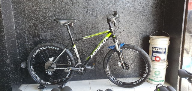 Bicicleta aro 26 quadro Mosso alumínio. - Foto 3