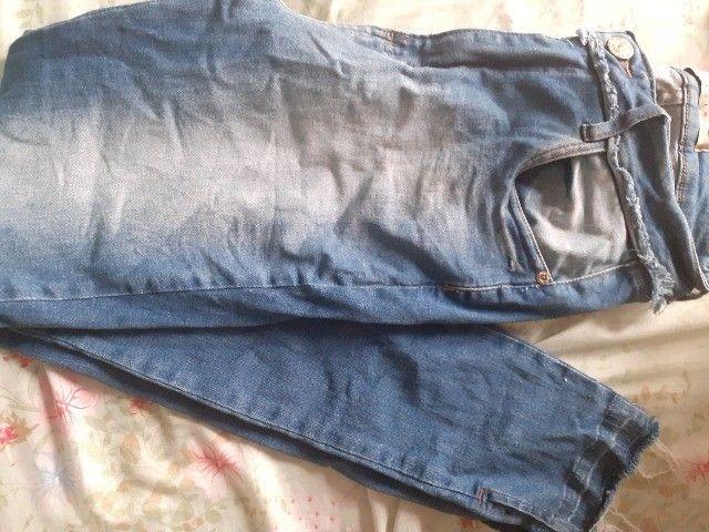 Calça Jeans Semi Nova - Foto 2