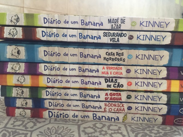 Coleção de Diário de um Banana (01-08) - Foto 3