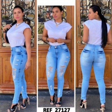 calças jeans super promoção