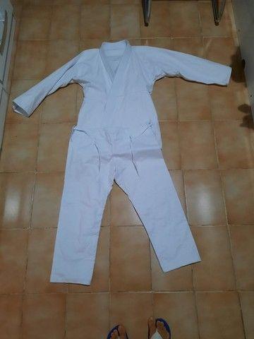 2 Kimono Jiu-jitsu A1 Trançado Leve Adulto - Aranha novo