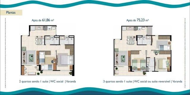 Apartamento 62 metros 2 quartos em Papicu - Fortaleza - CE - Foto 17