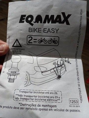 Transbike eqmax easy para 2 bikes. Invista em um produto de qualidade - Foto 5