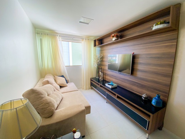 Alugo apartamento 2/4 na Jatiúca - mobiliado