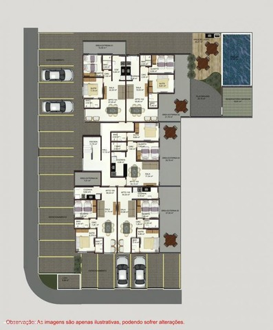Apartamento para Venda em João Pessoa, Planalto Boa Esperança, 2 dormitórios, 1 suíte, 1 b - Foto 2