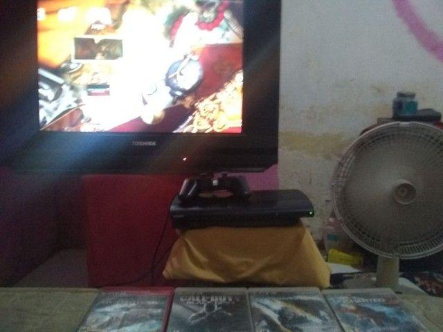 Vendo ou troco Playstation 3 semi novo Ler discriçao - Foto 4