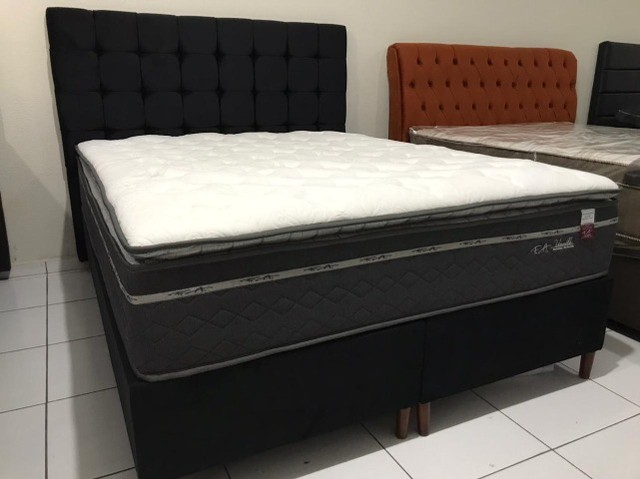 Cama Box Queen Size F.a Maringa Vivalle em Molas Extra Conforto Peça Nova! - Foto 2