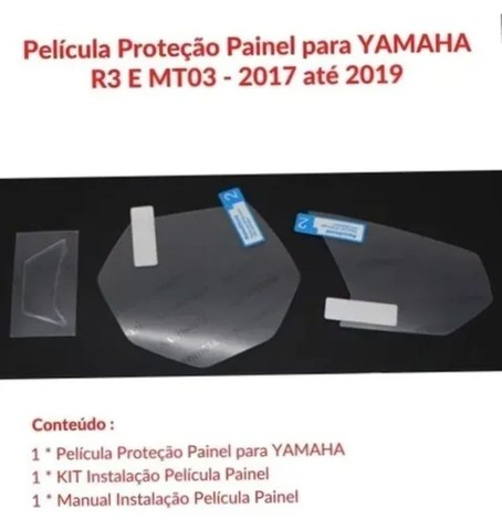Película protetora MT03 Yamaha - Foto 4