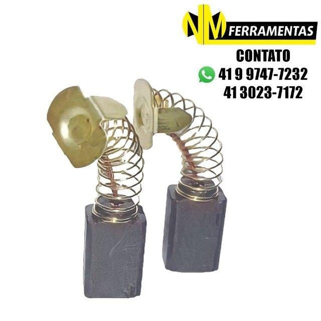 Escovas De Carvão Serra Circular Bosch/skil Gks 165 Ref.450
