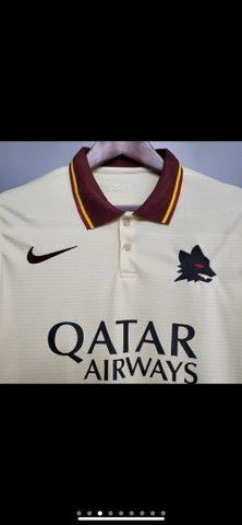 Camisetas da Roma e Seleção  - Foto 3