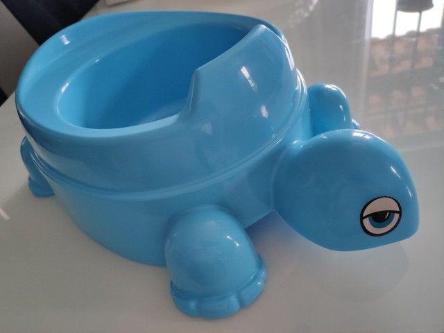 Troninho infantil modelo tartaruga - Foto 2